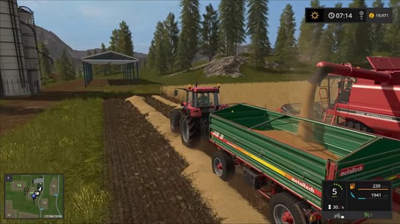 Top Five Daggerwin Playing Farming Simulator 17 - Circus