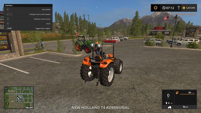 New Holland T4 Kommunal V 2.1 [MP]