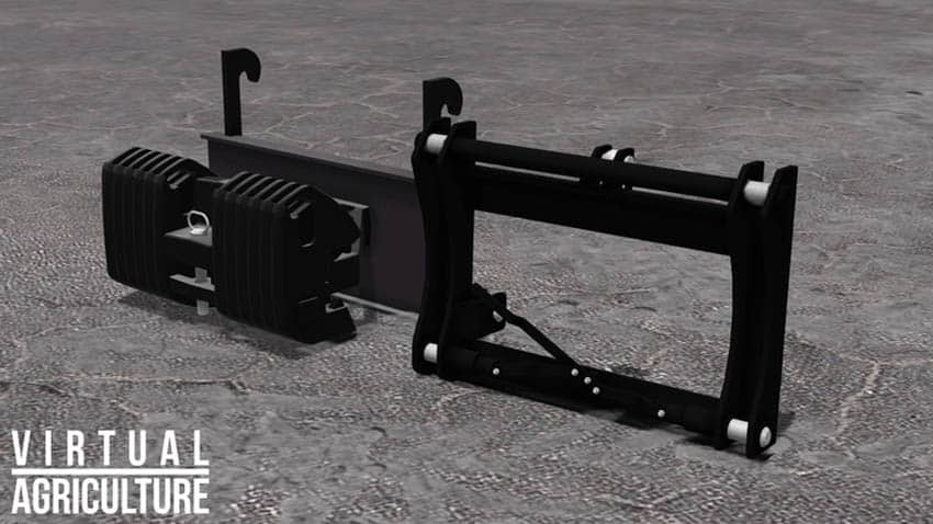 Weight and 3pt adapter V 1.0 [MP]