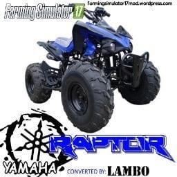 Raptor ATV FS17 Mod v1.0.1