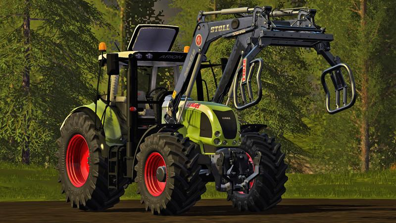 Claas Arion 600 (610, 620, 630) v1.0