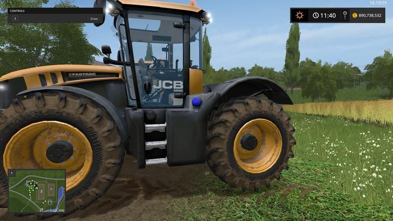 JCB FASTRAC 4000 PACK v1.0