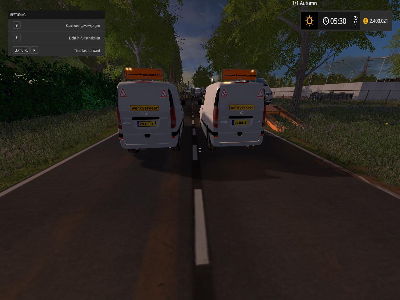 Mercedes viano roadclosing v1