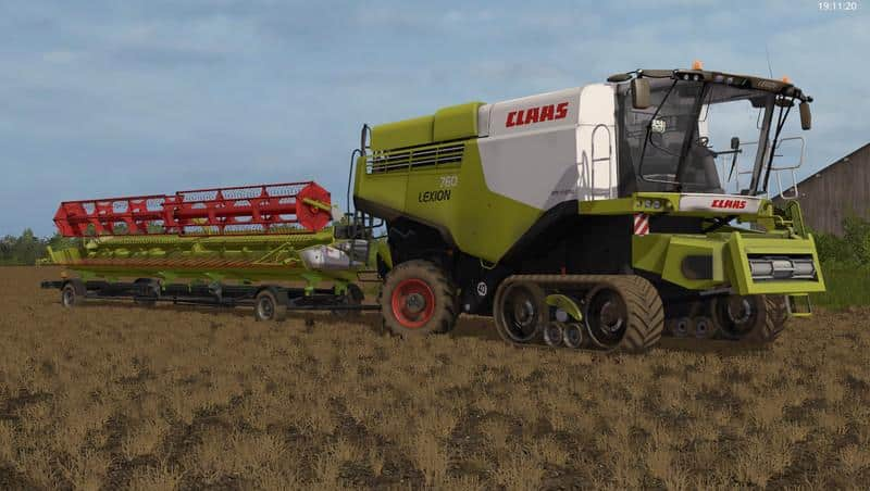 Claas Lexion 700 STAGE IV Pack v1.2