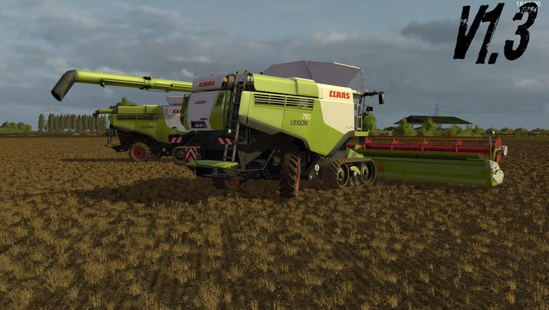 Claas Lexion 700 STAGE IV Pack v1.3