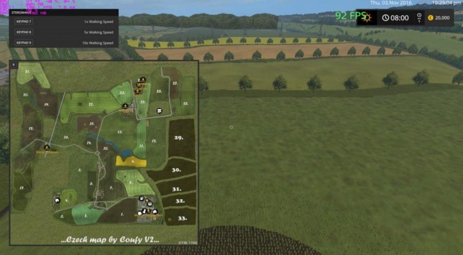 CZECH MAP v1.0
