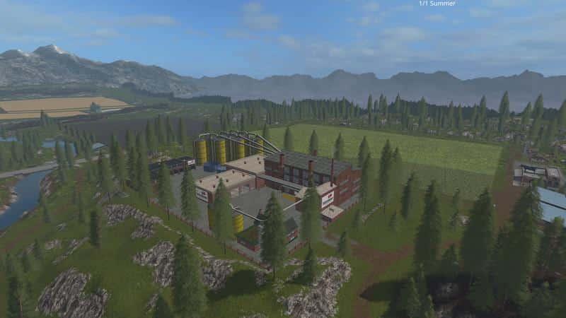 Goldcrest production map xxl v2.0