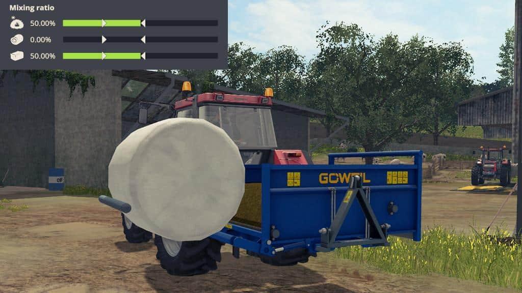 Goweil RBA - Round Bale mixer v1.0