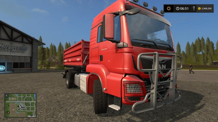 MAN TGS 18.440 TIPPER HIGH CAPACITY v1.7.1