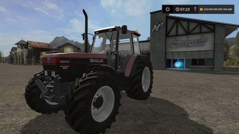 New Holland 8340 Red v1.0