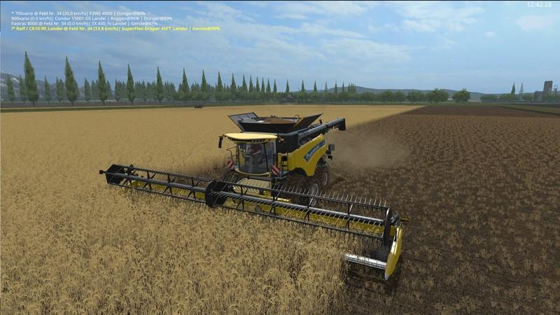 New Holland CR10.90 incl. Reapers v1.1