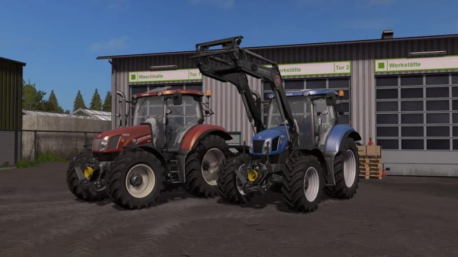New Holland T6 Tier4a v1.0