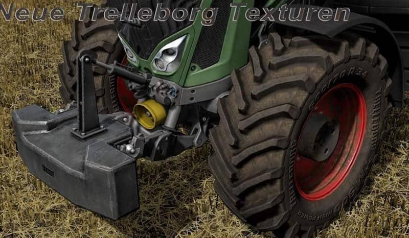 New Trelleborg textures v1.0