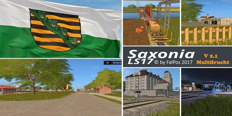 Saxony for LS17 v2.1 Multifrucht