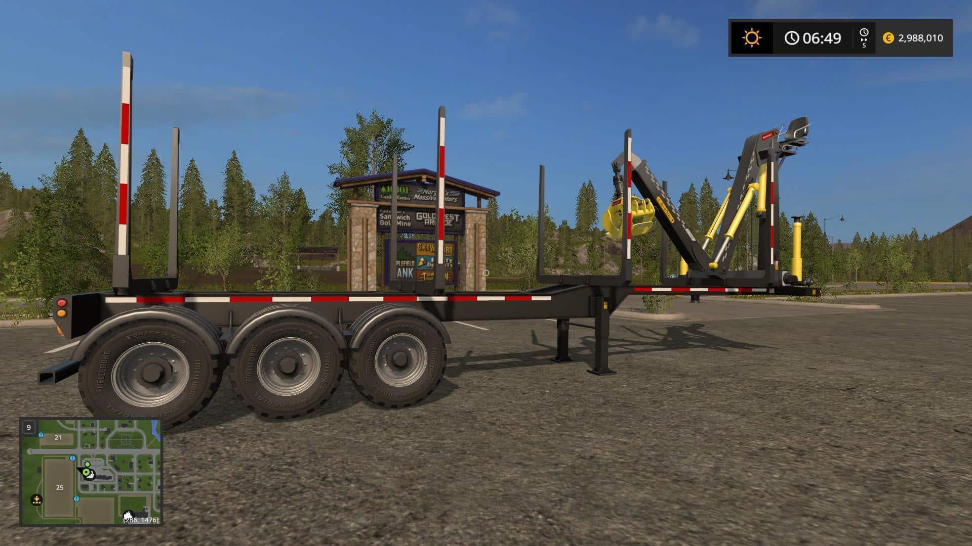 Biobeltz Log Trailer TR 750 FS17 v1.1.0.1