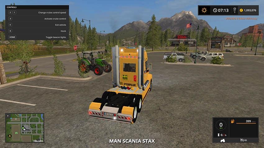 Caterpillar Scania Stax Truck V 1.0 [MP]