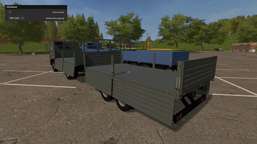 Kamaz and Trailer Set V 1.1 [MP]