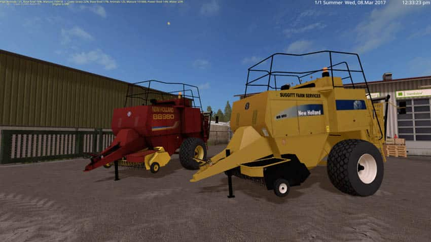 New Holland BB980 V 2.2 [MP]