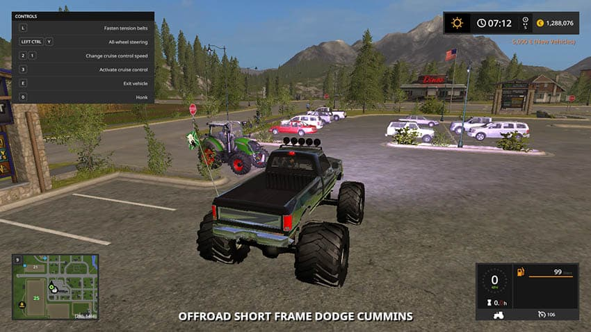 Offroad Dodge Cummins V 1.0 [MP]