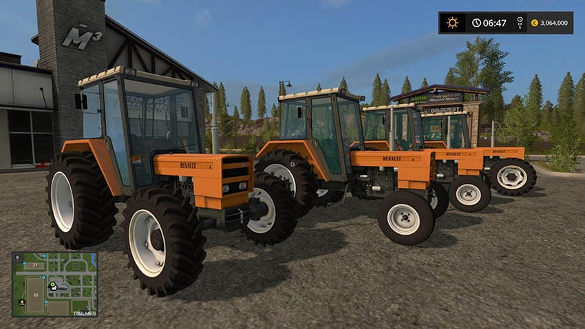 Renault 751s 7514s 781s 7814s v 1.0