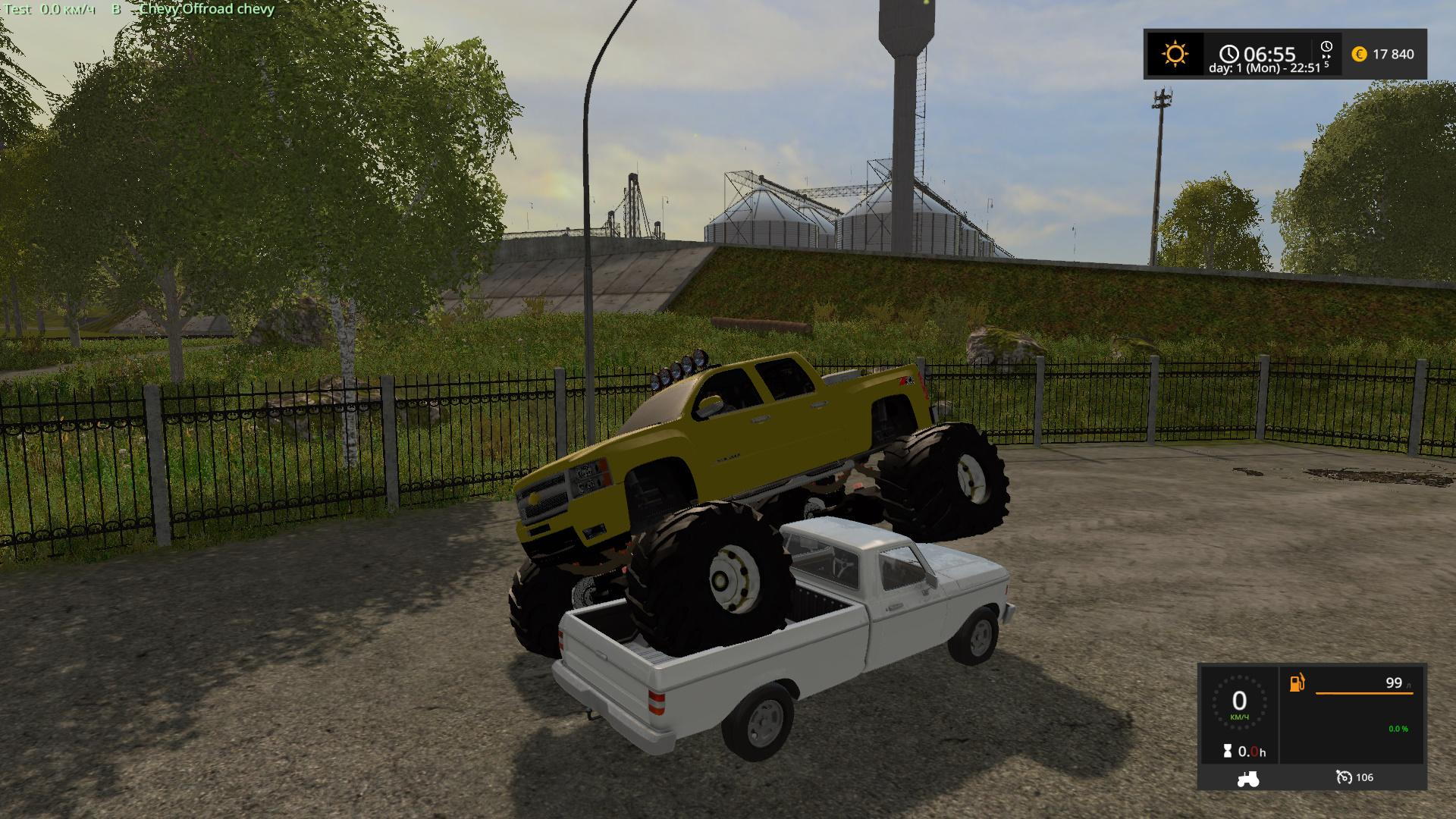 Chevrolet Silverado monster v1.0