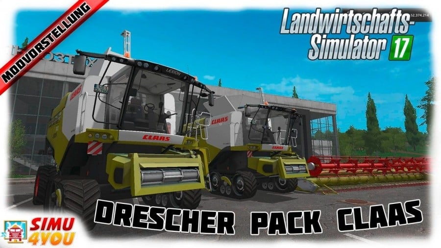 Claas Lexion 700 STAGE IV Pack v1.4.1