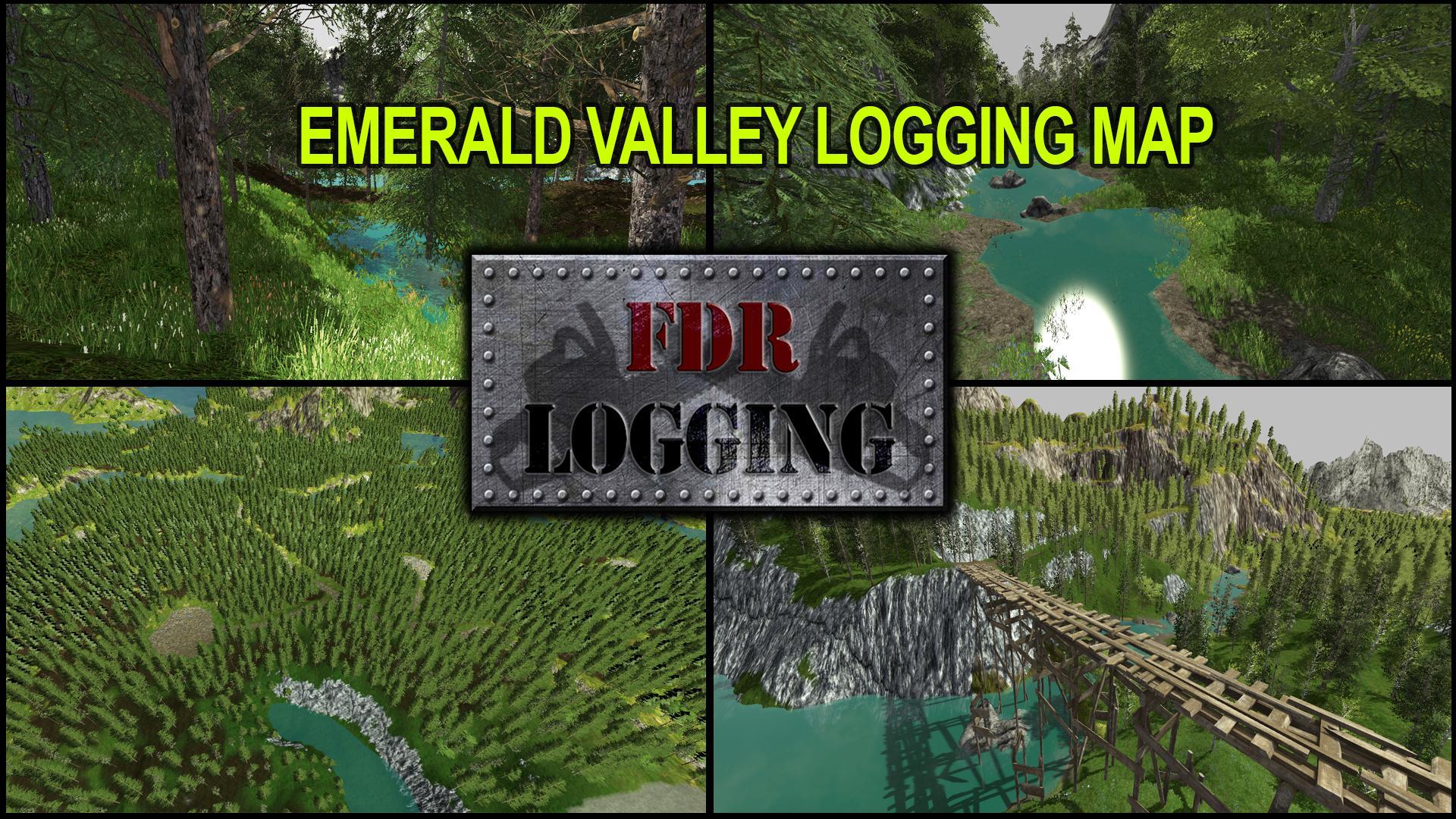 FDR Logging - Emerald Valley Logging Map