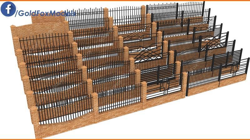 Fence Pack 2 v1.0