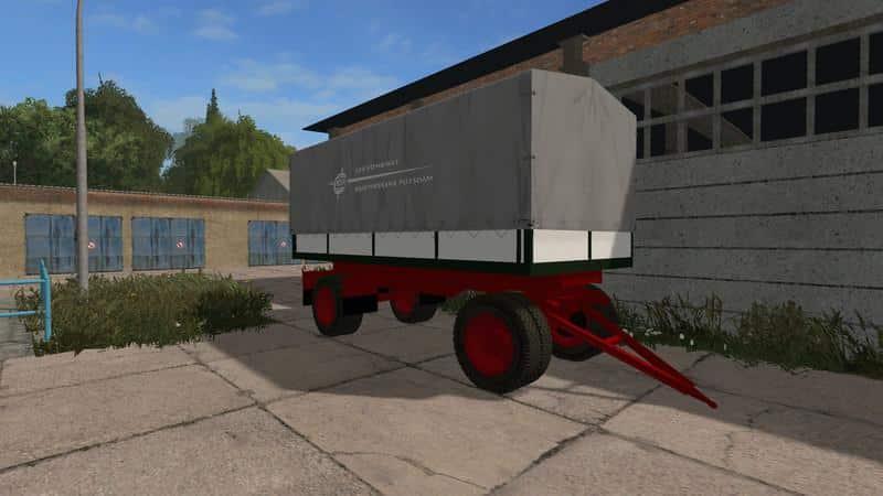 IFA S 4000 Flatbed / Tilt trailer v1.0