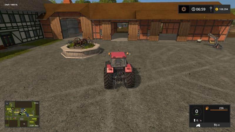 Kreihenborg Farming simulator 17 v3.0