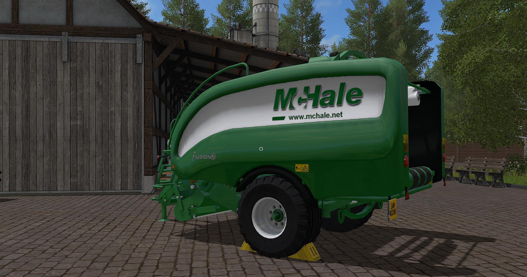 McHale Fusion 3 Baler Wrapper Combo v1.0