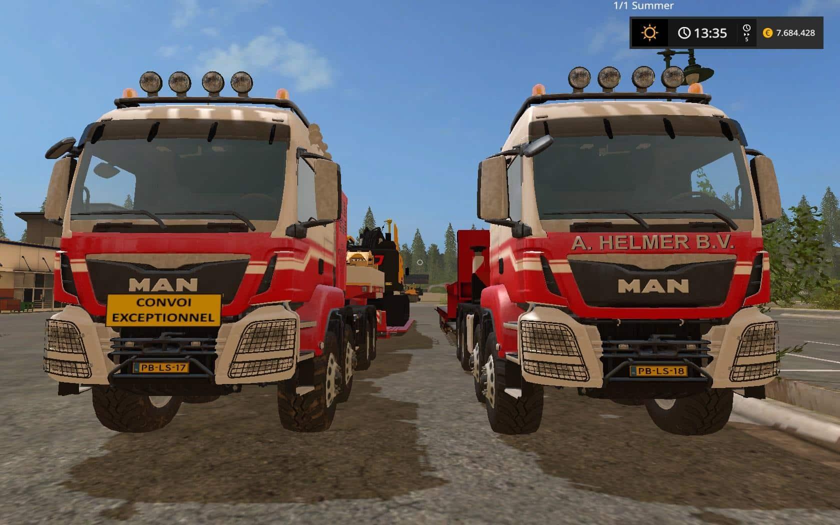 NLD Helmer MAN 8x8 Heavy v1.0
