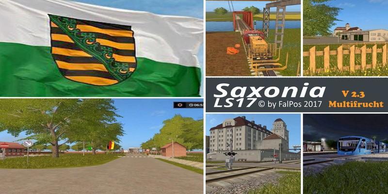 Saxony for FS17 v2.3 Multifruit