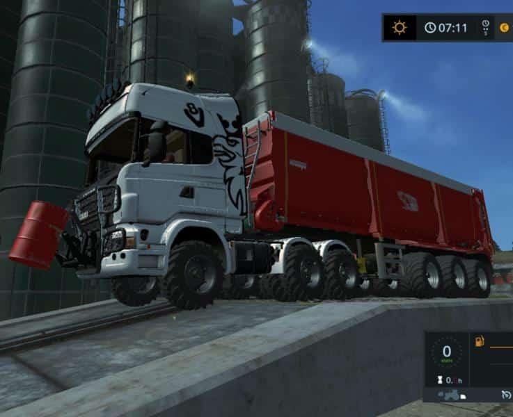 Scania Truck Agro v2.0