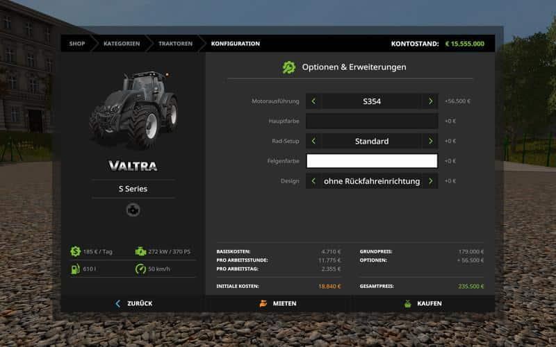 Valtra S Series v2.0.0.0
