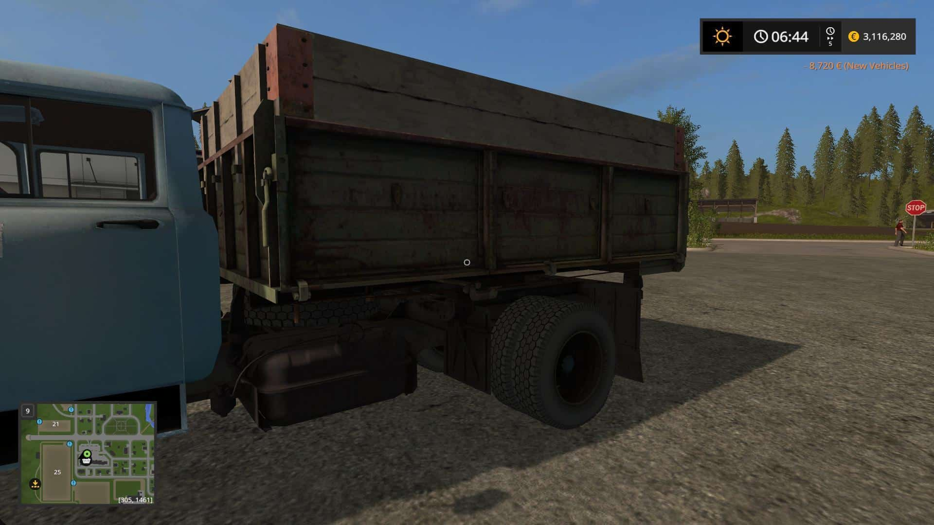ZIL-130 Reinforced v1.0 edit
