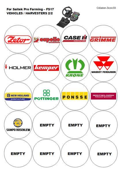 33 logos agricole Saiteck Pro Farming 17 v1.0
