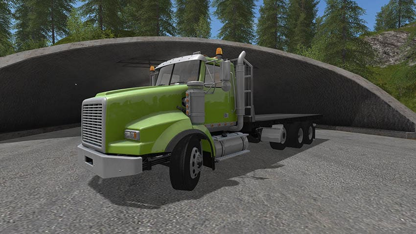 BBM Tri Axle Flat Bed Truck V 1.0 [MP]
