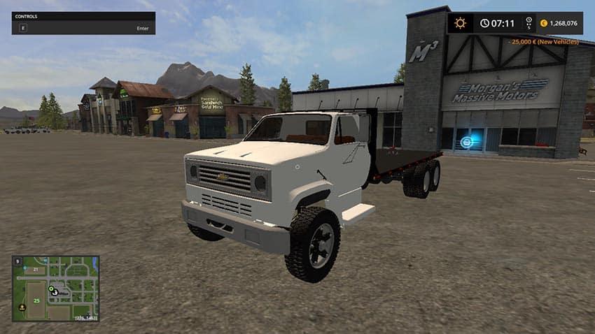 Chevy C70 Flatbed v 1.0