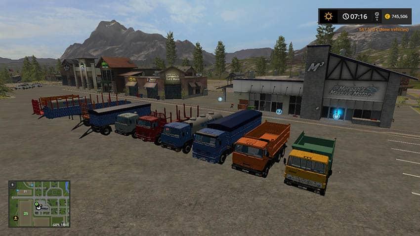 Kamaz Pack V 1.1 [MP]