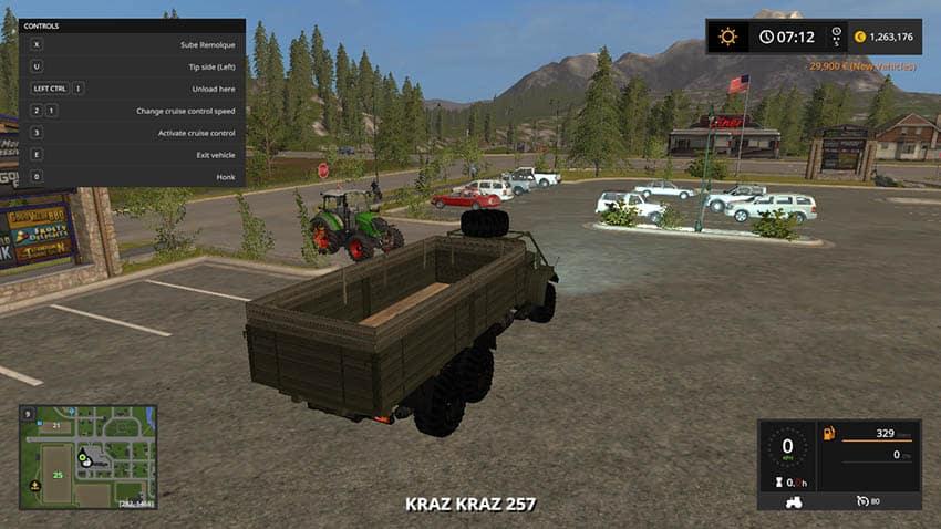 KrAZ 257 v 1.2 [MP]