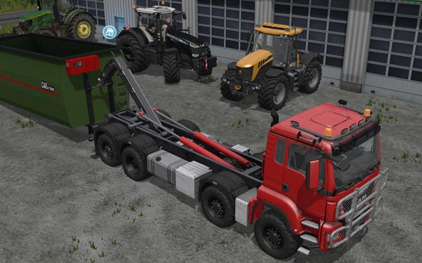 MAN TGS 6×6/8×8 with HVAC System V 4.0 [MP]