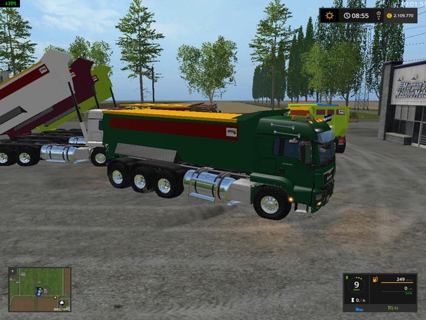 MAN DUMPER V 1.0 [MP]