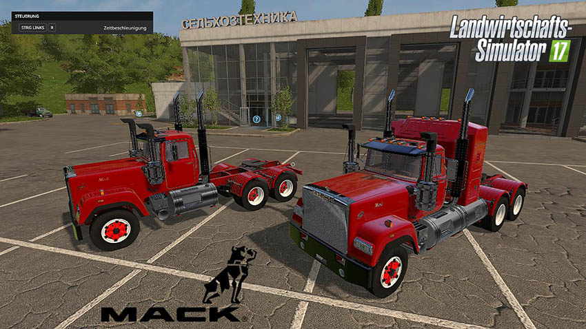 Mack Daycab and Mack Sleeper Truck v 1.0.0.2