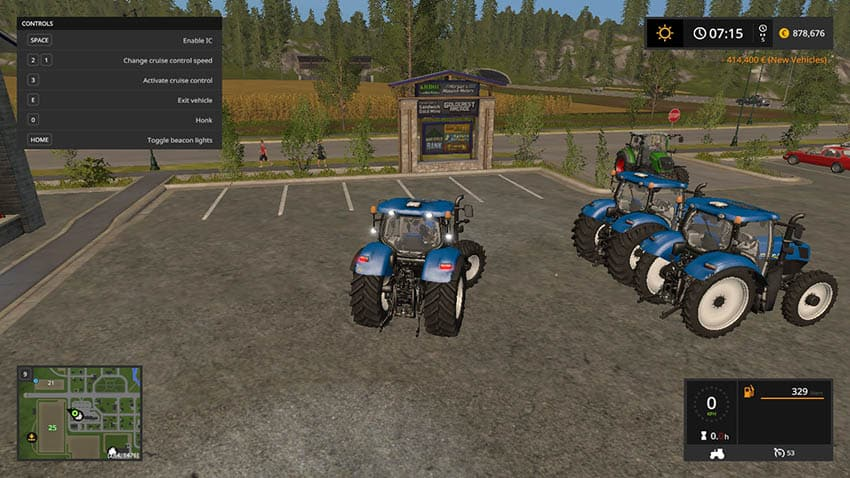 NEW HOLLAND T7 V 1.1 [MP]