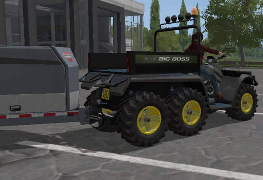 Quad POLARIS 6×6 V 1.0 [MP]