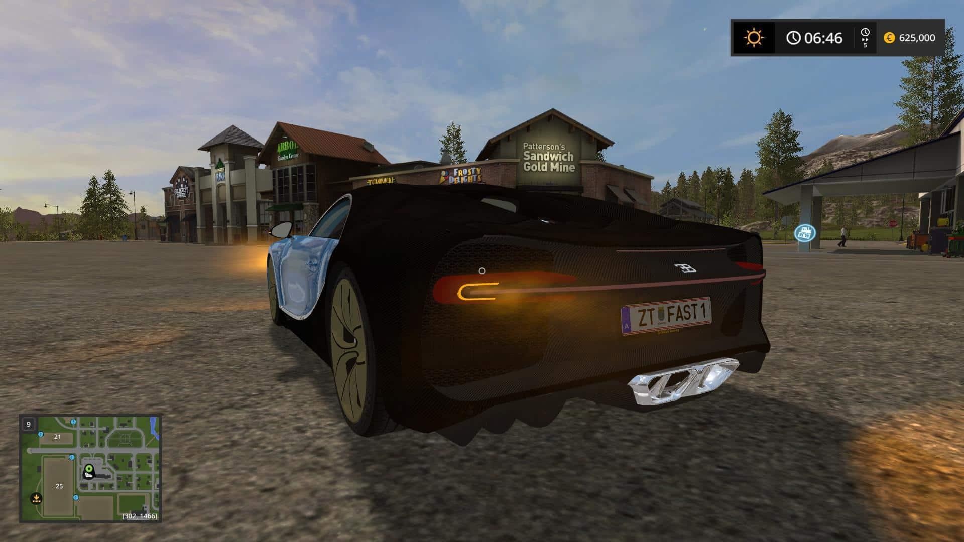 Bugatti Chiron v1
