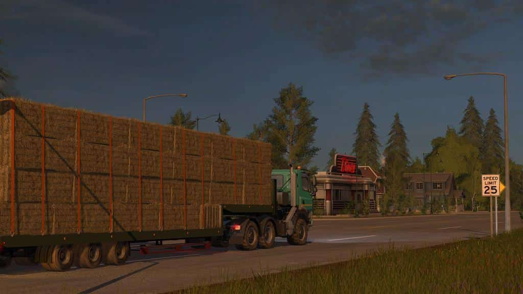 Flatbed Low Loader v1.1.0.2