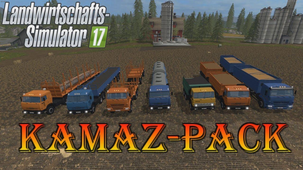Kamaz Pack v1.1