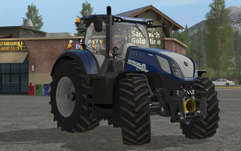 New holland t7 v2.2